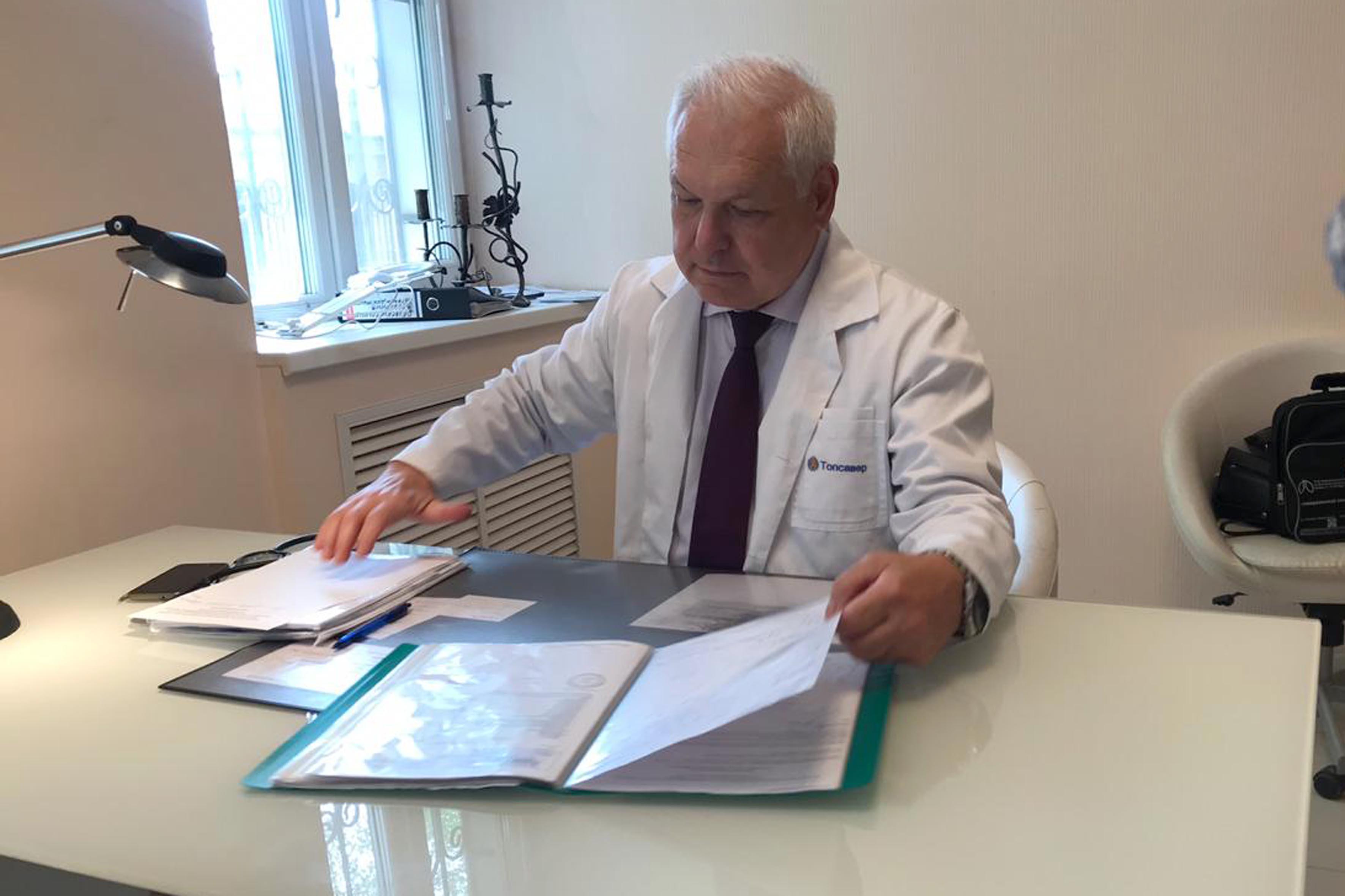 Ануфриев Игорь Иванович – пульмонолог, терапевт
