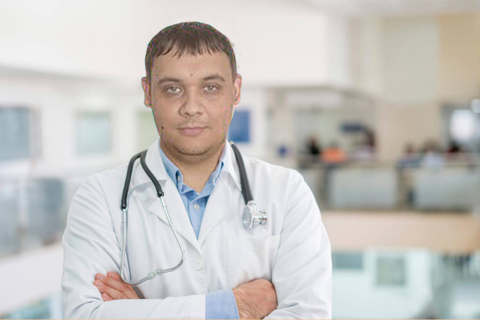 Антон Владимирович Маракулин. Хирург абдоминальный. Врач высшей категории