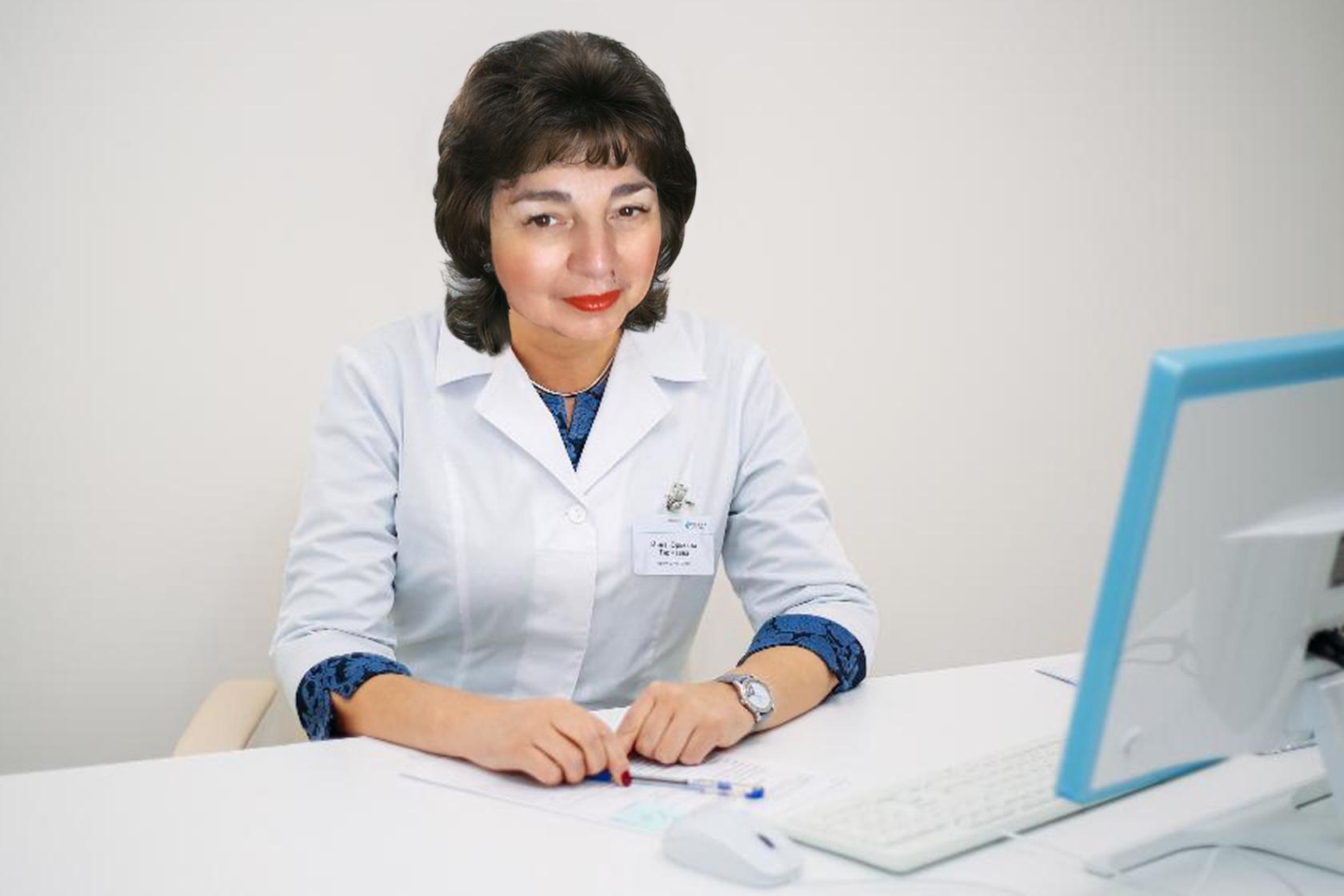 Дзиваева Маргарита Хореновна. Гастроэнтеролог. Врач высшей квалификационной категории