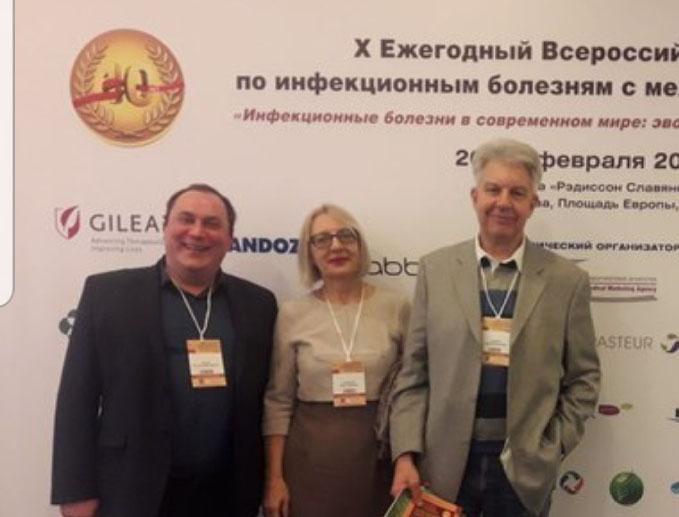 Ю. М. Амбалов - инфекционист-гепатолог высшей категории, профессор