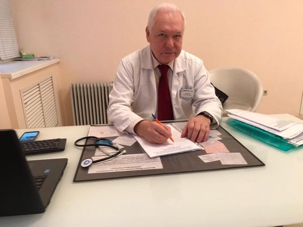 Ануфриев И.И. Ведущий пульмонолог