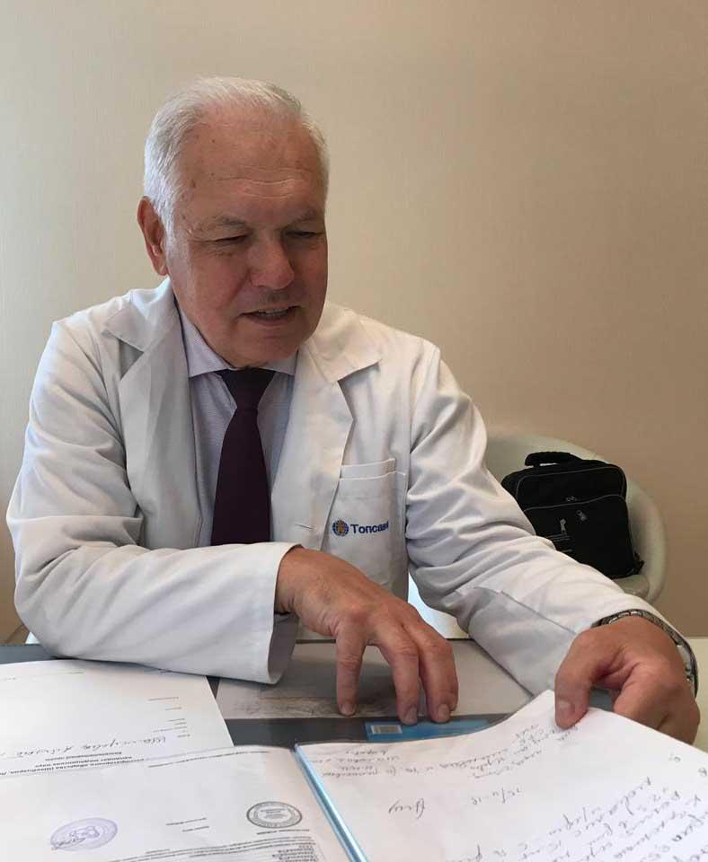 Ведущий пульмонолог - Ануфриев И.И. - терапевт, К.М.Н., специалист высшей категории