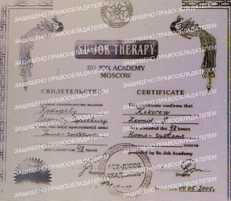 Кокорев Леонид Сергеевич Восточная медицина Санкт-Петербург