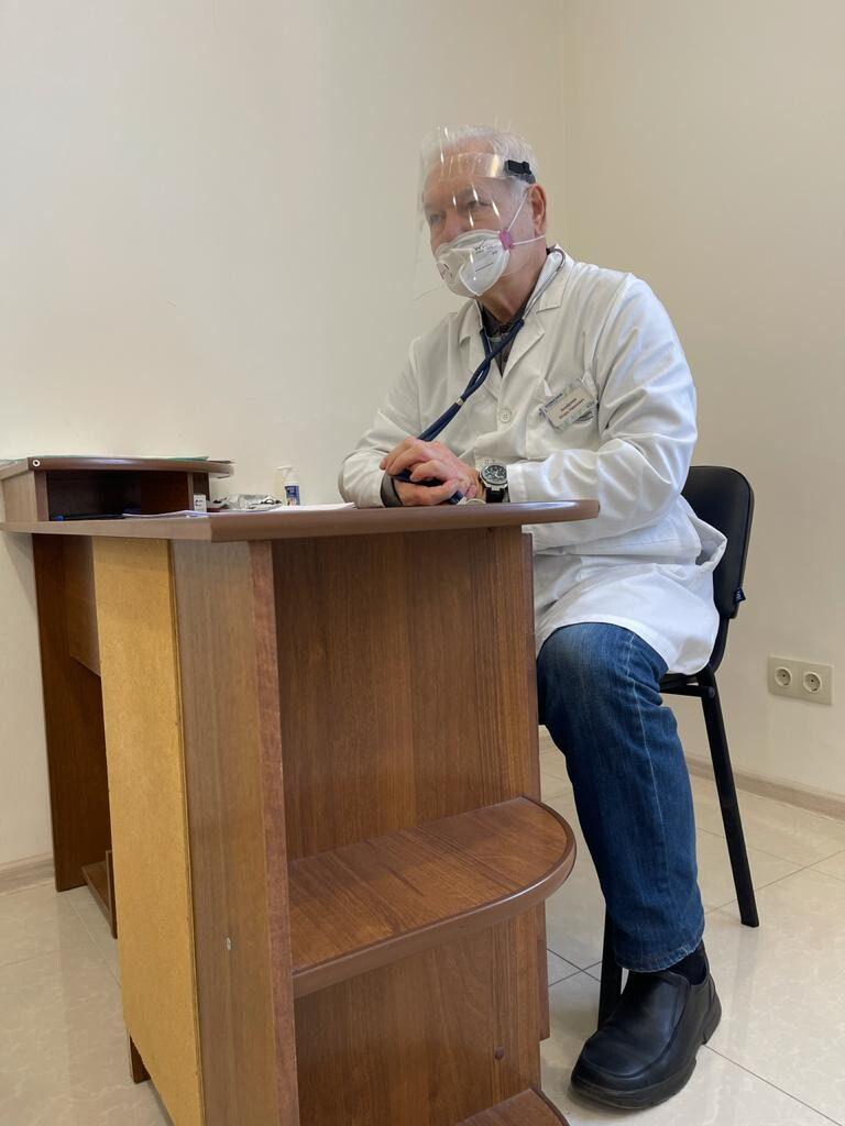 Ануфриев И.И. - пульмонолог доцент